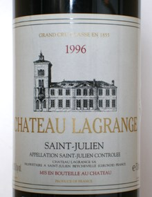 Ch. Lagrange Saint-Julien 1996 - Rockwood & Perry (en-US)