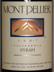 Mont Pellier Syrah California 2015 - Rockwood & Perry (en-US)