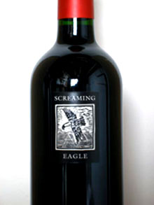 Screaming eagle cabernet sauvignon wine