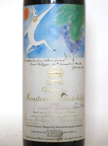 Ch. Mouton Rothschild Pauillac 1982 - Rockwood & Perry (en-US)