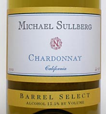 Michael Sullberg Chardonnay California 2016 - Rockwood & Perry (en-US)